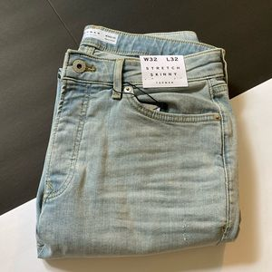 BRAND NEW - TOPMAN light ripped jeans
